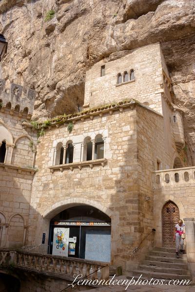 Rocamadour - Le Sanctuaire