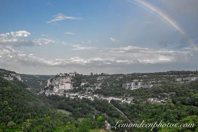 Rocamadour vu depuis le Promontoire 2