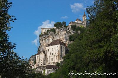 Rocamadour vu depuis le Promontoire 18