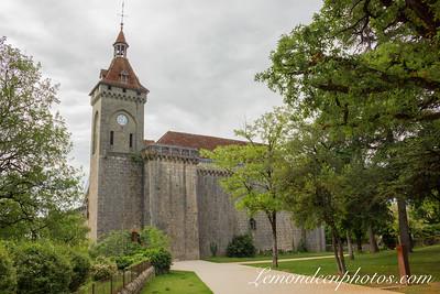 Rocamadour vu depuis le Promontoire 22