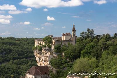 Rocamadour vu depuis le Promontoire 32