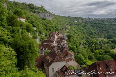 Rocamadour vu depuis le Promontoire 26