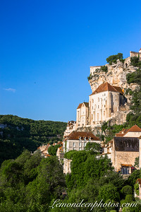 Rocamadour vu depuis le Promontoire 17