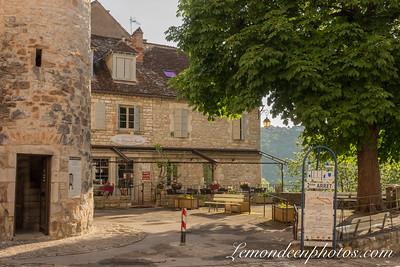 Rocamadour vu depuis le Promontoire 6