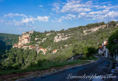 Rocamadour vu depuis le Promontoire 9