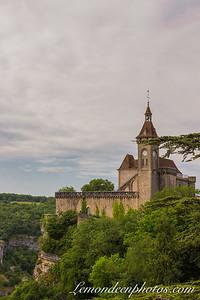 Rocamadour vu depuis le Promontoire 24