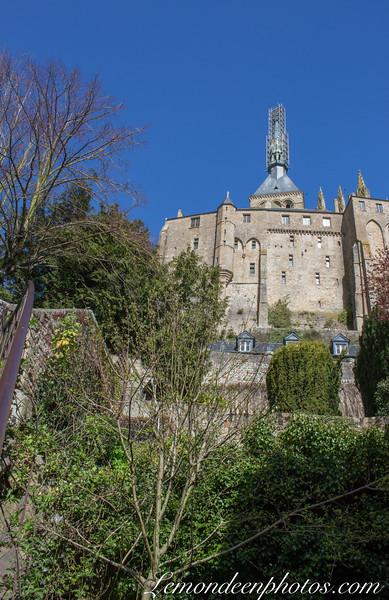 Le Rocher et son Abbaye