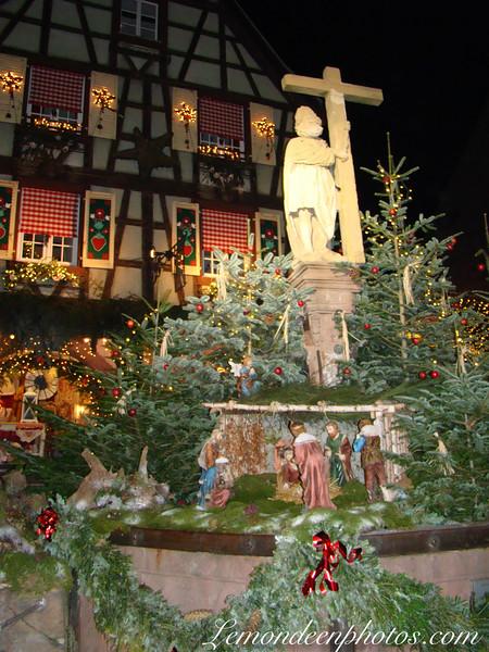 Crèche de Noël à Kaysersberg