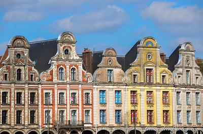 Arras - Grand'Place (coté nord)