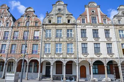 Arras - Grand'Place (coté ouest)