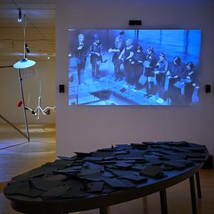 Héctor Zamora - Ruptura 14th Biennale de Lyon - Floating Worlds - MAC Lyon
