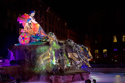 A Tribute to Bartholdi – all eyes on the fountain