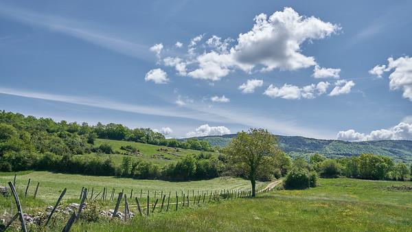 """Poncin et sa région - Randonnée - 46°5'32"""" N 5°27'40"""" E - 543,1m (Saint-Alban - Auvergne-Rhône-Alpes)"""