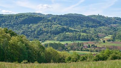 """Poncin et sa région - Randonnée - 46°5'15"""" N 5°25'20"""" E - 360,4m (Poncin - Auvergne-Rhône-Alpes)"""