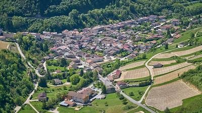 """Poncin et sa région - Randonnée - 46°5'23"""" N 5°28'3"""" E - 561,3m (Saint-Alban - Auvergne-Rhône-Alpes)"""