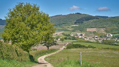 """Juliénas randonnée mai 2017 - 46°14'57"""" N 4°42'29"""" E - 474,1m (Juliénas - Auvergne-Rhône-Alpes)"""