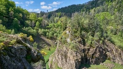 """Rochetaillée Gouffre d'Enfer - Randonnée - 45°23'27"""" N 4°26'54"""" E - 786,2m (Planfoy - Auvergne-Rhône-Alpes)"""
