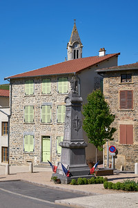 "Courzieu La Brevenne - 45°44'28"" N 4°34'16"" E - 377,3m (Courzieu - Auvergne-Rhône-Alpes)"