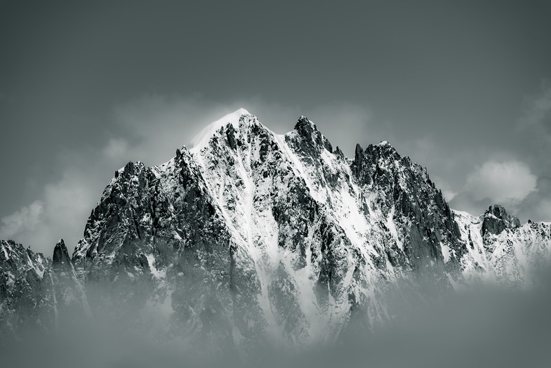 The Grandes Jorasses