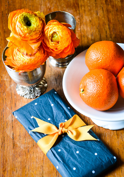 Chocolate, Clementines and Flowers<br /> Iris' Apartment<br /> Paris