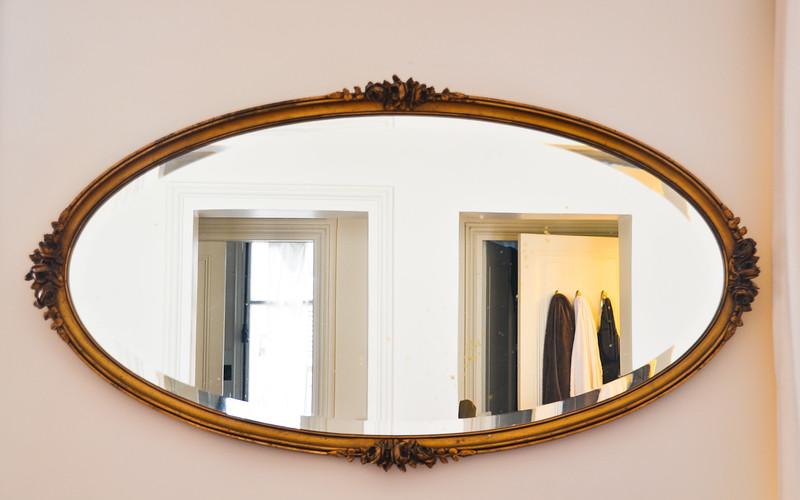 Mirror<br /> Iris' Apartment<br /> Paris
