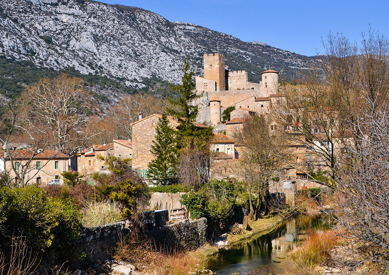 Saint-Jean-De-Budges<br /> Languedoc-Roussillon region in southern France