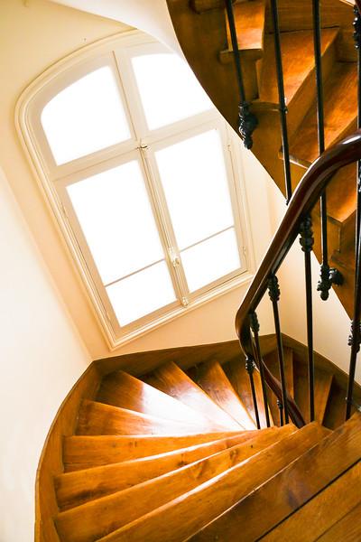 Stairwell<br /> Paris Apartment Building