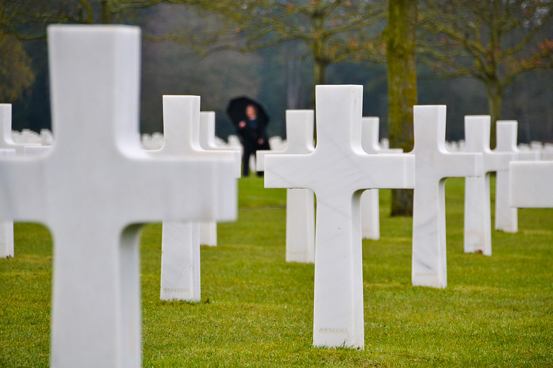 The Normandy American Cemetery and Memorial (WWII)<br /> Colleville-sur-Mer, Normandy