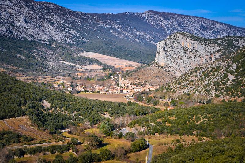 Saint-Jean-De-Budges<br /> Languedoc-Roussillon region in southern France