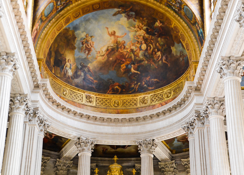 Ceiling<br /> The Palace of Versailles<br /> Île-de-France