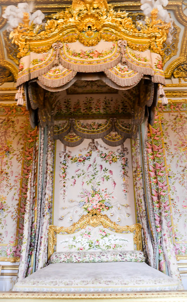 Bed of Marie-Antoinette <br /> The Palace of Versailles<br /> Île-de-France