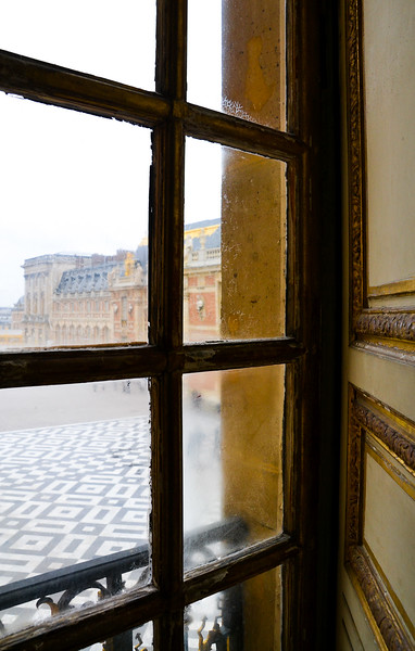 Outside View<br /> The Palace of Versailles<br /> Île-de-France