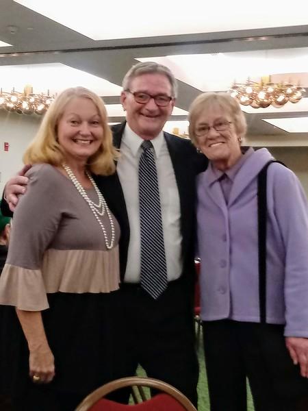 Beth DeSimon, Pete and Christine Cloutier photo taken by Gretchen Cloutier
