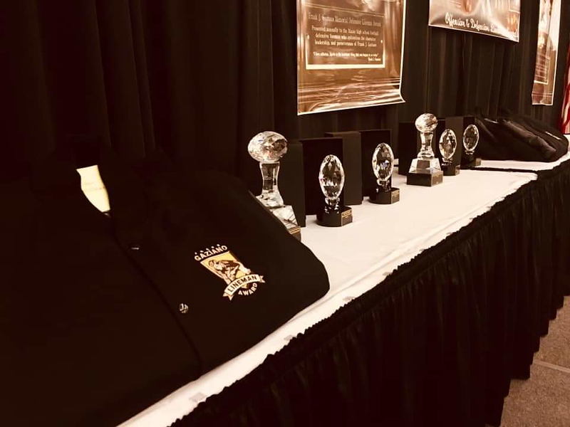 Award Jackets and Individual Trophies. Photo by Jenn Bouffard from National Dist.