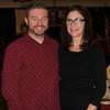 Jennifer Bouffard, Event Coordinator with her husband.