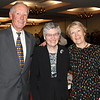 Jeff Kane, Frank Gaziano's  Son-in-law,  Catherine Fleming, Frank's Secretary and  and Judy Gaziano Kane.,  Frank's daughter.