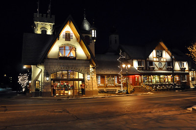 BAVARIAN INN AT NIGHT