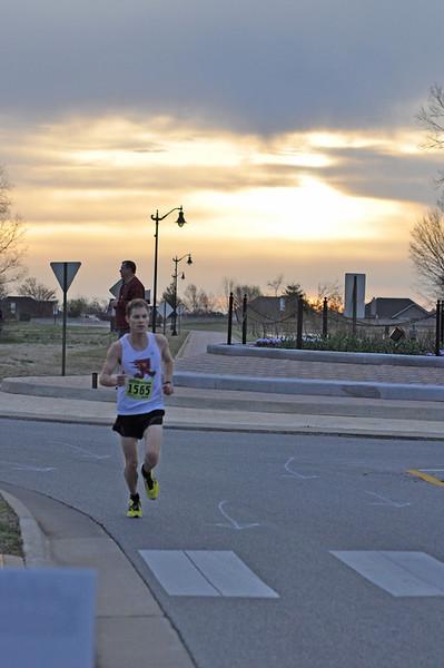 Bentonville Half Marathon 2013 John Deshields Traffic Circle