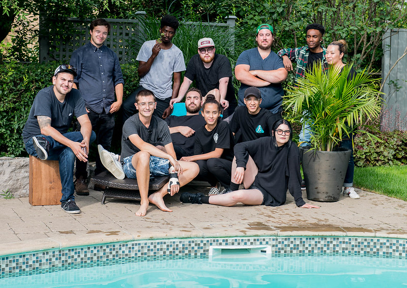 OK - Here's the whole team - now with Maya!