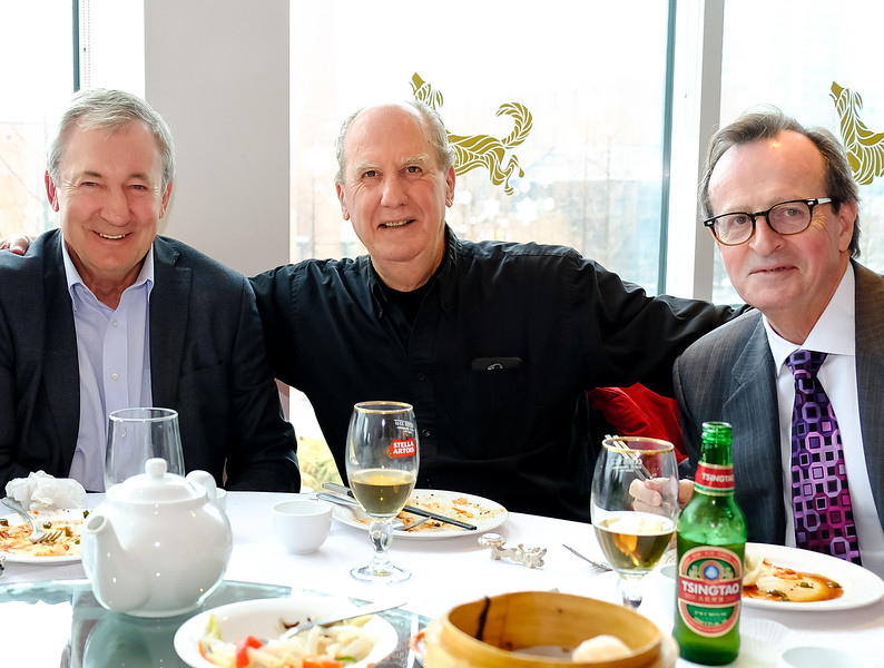 Mike W, Dave T and Gilles O