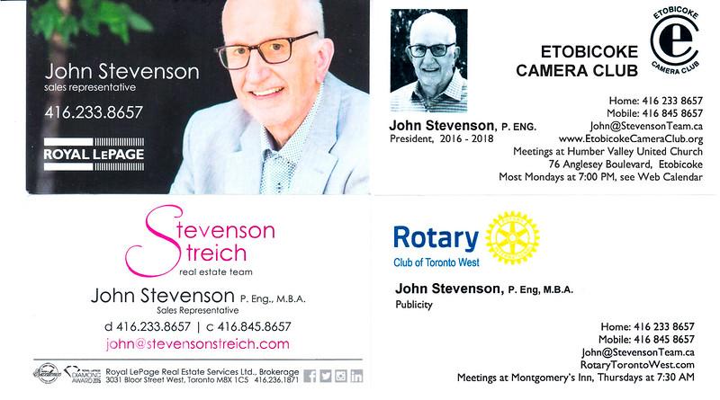 John Bus cards 1