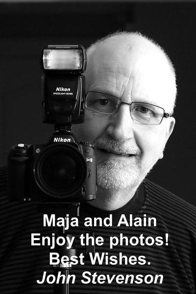 _  1John Stevenson for Alain and Maja