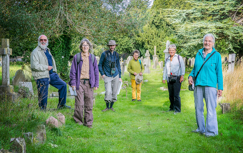 FRNC Sept 20 Nature Walk - Group Shot