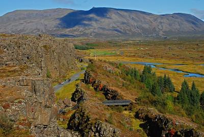 Veðrið var einstaklega gott