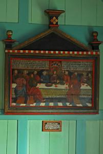 Gamla altaristaflan í Þingvallakirkju