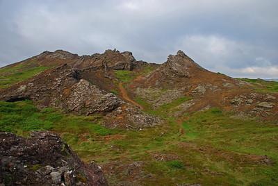 Búrfell og Búrfellsgjá