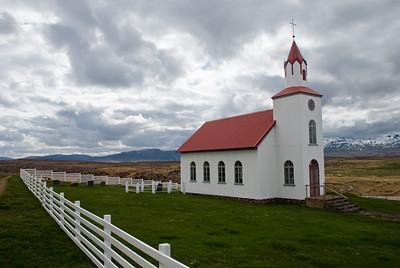 Kirkjan að Helgafelli