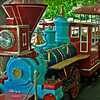 Look Park Train, Northampton