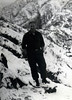 The snow & I. Feb '53 Satari Valley.