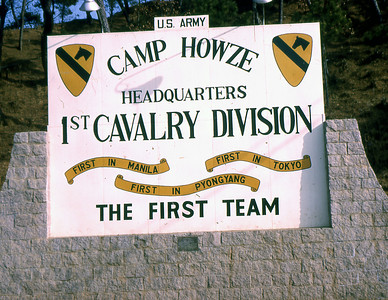 Leaving Camp Howze, Korea and the 1st US Cavalry Division. For Frank after this would come Hawaii, the Wolfhounds and the 25th Infantry Division, and Vietnam. The 1st US Cavalry Division soon reorganized, adopting air mobility capabilities, and became the 1st Air Cavalry Division.